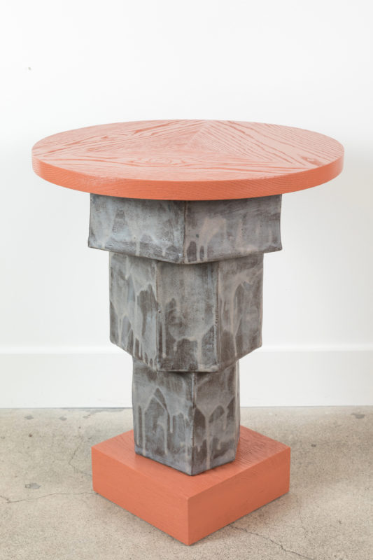 LF x BZippy Collabs in Clay Side Table